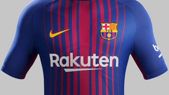 2fcd1aa95 Barcelona Koszulka Podstawowa 2017/18 Opinie – Tanie Koszulki ...
