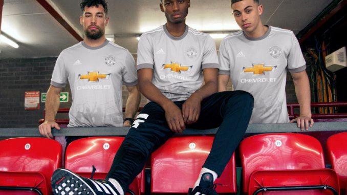 ad65430b5 Manchester United Koszulka Trzecia 2017-18 sezonu – Tanie Koszulki ...
